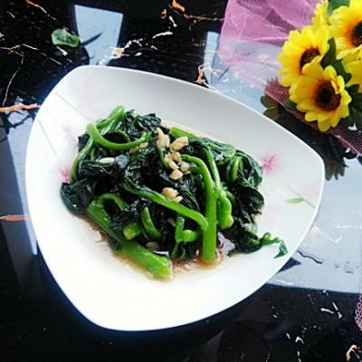 蚝油木耳菜