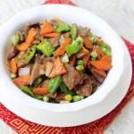 豌豆炒猪肝