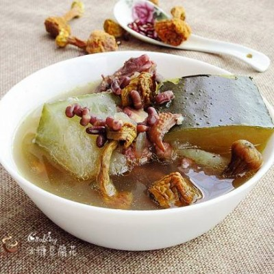 赤小豆姬松茸冬瓜汤