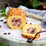蔓越莓奶凍蛋糕卷