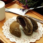 抹茶麻薯豆沙软欧包