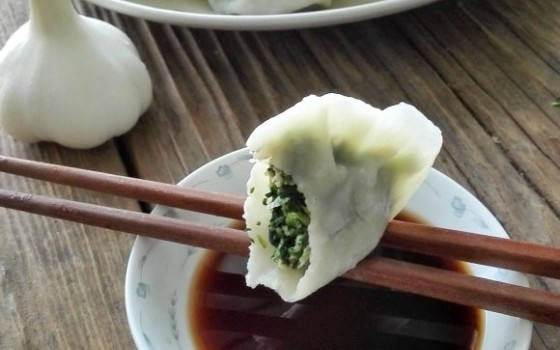 蒲公英饺子