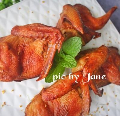 香烤乳鸽#盛夏餐桌#