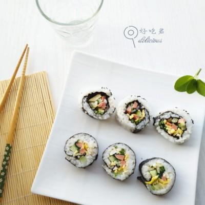 #盛夏餐桌#菠菜双拼寿