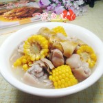 玉米羊尾笋猪蹄汤