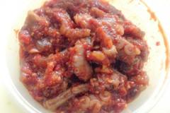韩式凉拌章鱼