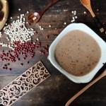 红豆薏米枣糊
