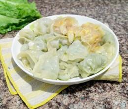豌豆苗蒸饺