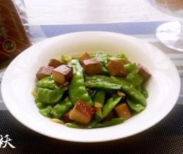 荷兰豆炒香干