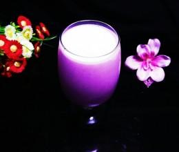 紫薯酸奶奶昔
