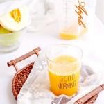 甜瓜果汁#盛夏餐桌#