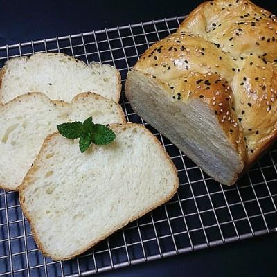 亚麻籽油低糖面包