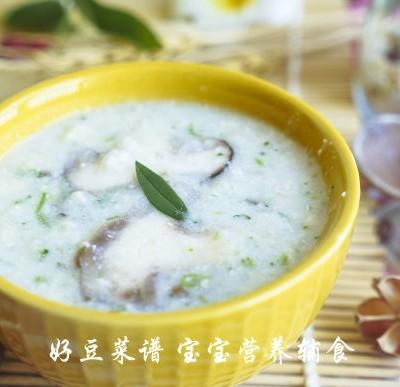 香菇玉米鸡茸粥