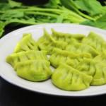 菠菜饺子#盛夏餐桌#