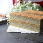 黑芝麻日式棉花蛋糕#
