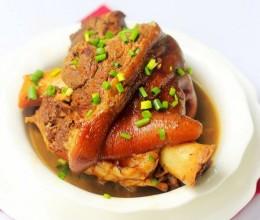 老汤炖猪肘#盛夏餐桌#