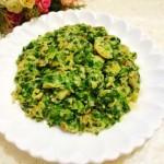 海米韭菜煎蛋
