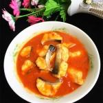 番茄酸汤煮巴沙鱼