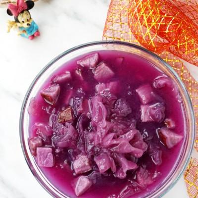 #盛夏餐桌#紫薯银耳汤