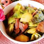 油豆角炖土豆