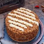 核桃奶油蛋糕