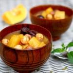 南瓜红枣绿豆汤