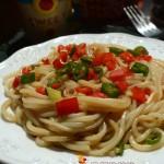 #盛夏餐桌#双椒米线