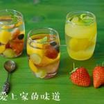 五彩缤纷水果凉冻