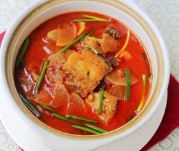 白萝卜炖鱼