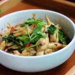 香辣豆豉拌蛏肉
