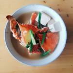 螃蟹炖豆腐