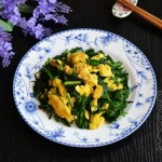 韭菜炒鹅蛋