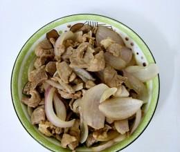 洋葱爆炒猪瘦肉