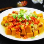 虾米剁椒蒸南瓜