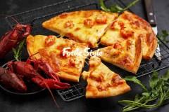 小龙虾pizza