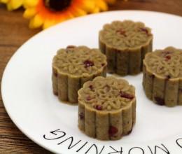 蔓越莓绿豆糕