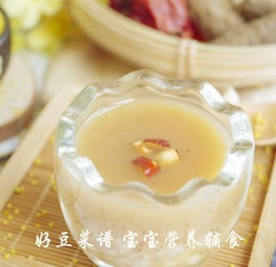 红枣山药小米露