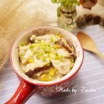 鸡肉玉米菇菇粥
