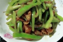 青辣椒丝炒肉