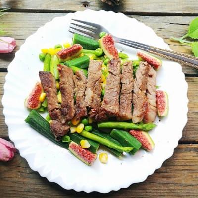 牛肉蔬菜沙拉