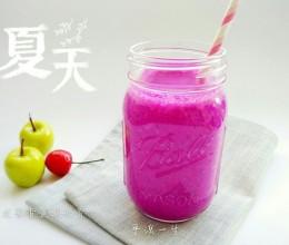 火龙果香蕉酸奶昔