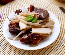 杏鲍菇炒炖肉
