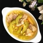 凉瓜黄豆煲龙骨汤