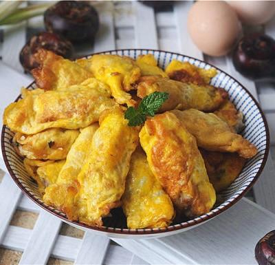 荸荠瘦肉鸡蛋饺子