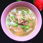 碗豆米猪肝汤