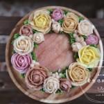 花团锦簇裱花蛋糕