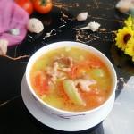 番茄丝瓜瘦肉汤