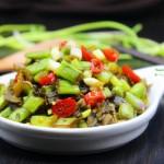 酸菜炒四季豆