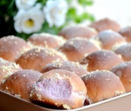 紫薯椰蓉面包