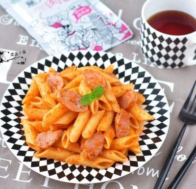 意大利肉酱斜管面
